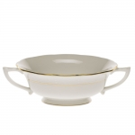 Golden Edge Cream Soup Cup