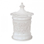 Juliska Jardins du Monde Heligan Small White Canister