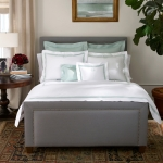 Lowell White/Ivory Standard Pillowcase