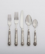 Legacy Pewter Noto Five Piece Placesetting