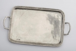Legacy Pewter Medium Handled Tray