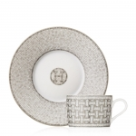 Mosaique Platinum Tea Cup & Saucer