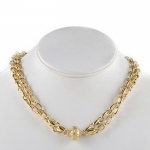 Madison Chain Necklace in Yellow Gold