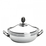 Malmaison Silver Plated Covered Vegetable Dish