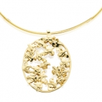 14kt Yellow Gold Covey Necklace