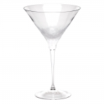 Pebbles Clear Martini Glass