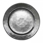 Pewter Stoneware Side or Cocktail Plate
