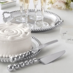 String of Pearls Cake Server Set