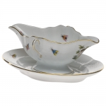 Rothschild Bird Gravy Boat with Fixed Stand