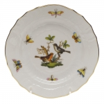 Rothschild Bird Bread and Butter Plate, Motif #5