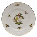 Rothschild Bird Bread and Butter Plate, Motif #6