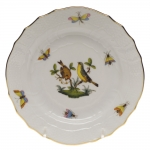 Rothschild Bird Bread and Butter Plate, Motif #7