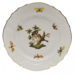 Rothschild Bird Bread and Butter Plate, Motif #10