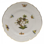 Rothschild Bird Bread and Butter Plate, Motif #11