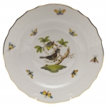 Rothschild Bird Salad Plate, Motif #1