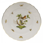 Rothschild Bird Dinner Plate, Motif #3