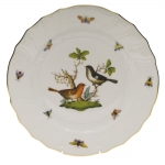 Rothschild Bird Dinner Plate, Motif #5