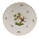 Rothschild Bird Dinner Plate, Motif #10