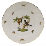 Rothschild Bird Dinner Plate, Motif #12