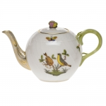 Rothschild Bird Tea Pot with Butterfly