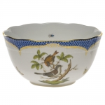 Rothschild Bird Blue Border Round Bowl