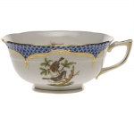 Rothschild Bird Blue Border Tea Cup - Motif #4