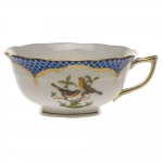 Rothschild Bird Blue Border Tea Cup - Motif #9