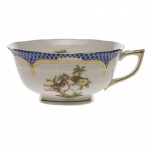 Rothschild Bird Blue Border Tea Cup - Motif #11