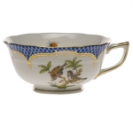 Rothschild Bird Blue Border Tea Cup - Motif #12