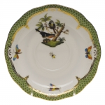 Rothschild Bird Green Border Tea Cup Saucer - Motif #2