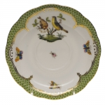 Rothschild Bird Green Border Tea Cup Saucer - Motif #7