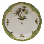 Rothschild Bird Green Border Tea Cup Saucer - Motif #11