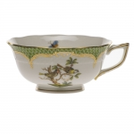 Rothschild Bird Green Border Tea Cup - Motif #11