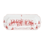 Country Estate Reindeer Games Hostess Tray