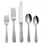 Repousse Sterling Five Piece Place Setting