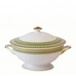 Arcades Green Soup Tureen