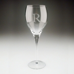 White Wine Glasses - Personalized, Set of Four