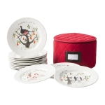12 Days of Christmas Set of 12 Dessert Plates