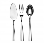 Silhouette Stanless Steel Four Piece Hostess Set