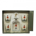 Snooty Fox Decanter Set with Four Double Old Fashioneds