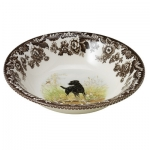 Woodland Black Labrador Ascot Cereal Bowl