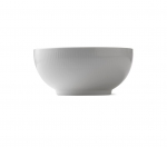 White Fluted Bowl, 7 Cups