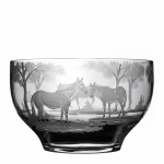 The L.V. Harkness Custom Made Engraved Bowl