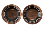 Stonewood Stripe Condiment Bowls, Set of Two