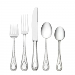 Hester Bateman Sterling Five Piece Dinner Setting