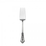 Rose Point Sterling Cold Meat Fork