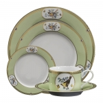 Windsor Bird Plain Center Five Piece Place Setting