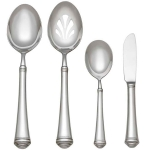 Allora Stainless Four Piece Hostess Set