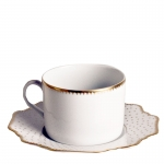 Simply Anna Antique Polka Tea Cup Saucer
