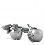 Pewter Apple Salt and Pepper Set